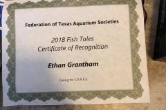 Ethan Grantham Award