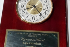 Kyle Osterholt Award.