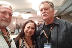 James Coleman, Delphena Truong and Bill Parker.