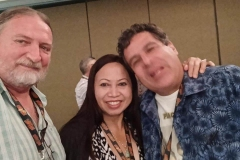 James Coleman, Delphena Truong and Jim Valenzuela.